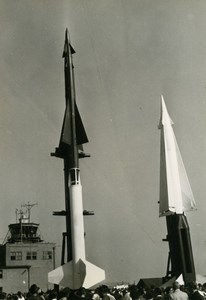 Germany ? Rocket or Missile Presentation Airshow Aviation Old Photo 1960