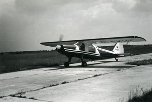 Germany Aviation Light Aircraft Dornier D-EKUT Airshow Old Photo 1960