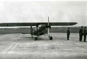 Germany Aviation Light Aircraft Airshow Old Photo 1960