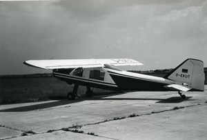 Germany Aviation Light Aircraft Dornier D-EKUT Airshow Old Photo 1960