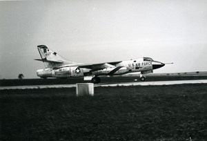 USA Military Aviation Fighter Aircraft US Air Force BB-507 4507 Old Photo 1960