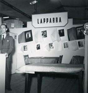 France Paris Photo Cine Sound Fair Booth of Lapparra Old Amateur Snapshot 1951