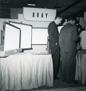 France Paris Photo Cine Sound Fair Booth of Oray Old Amateur Snapshot 1951