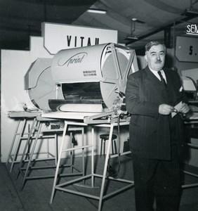 France Paris Photo Cine Sound Fair Georges Vitau Sprint Amateur Snapshot 1951