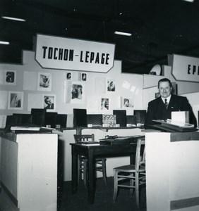 Paris Photo Cine Sound Fair Booth of TOCHON LEPAGE Old Amateur Snapshot 1951