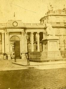 France Paris Palais du Corps Législatif Palais Bourbon ancienne Photo CDV 1870