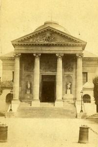 France Chapelle des Carmélites de Saint-Denis ancienne Photo CDV 1870