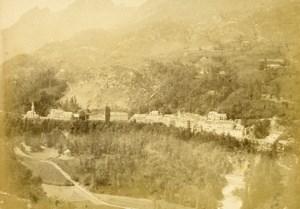 Pyrenees Saint Sauveur taken from Solferino Old CDV Photo Andrieu 1870