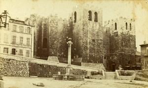 France Marseille Abbaye de Saint Victor Abbey Old Neurdein CDV Photo 1870's
