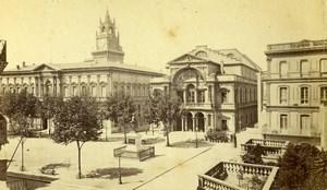 France Avignon Theater Theatre Old Neurdein CDV Photo 1870