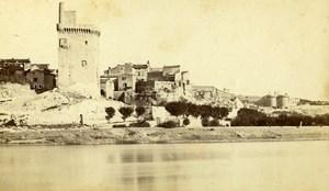 France Avignon Villeneuve les Avignon Old Neurdein CDV Photo 1870