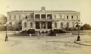 Monaco Casino Façade Old CDV Photo Degand 1870