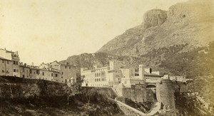Monaco Castle Palace Old CDV Photo Davanne & Aleo 1870