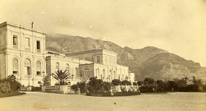 Monaco the casino Old CDV Photo Davanne & Aleo 1870