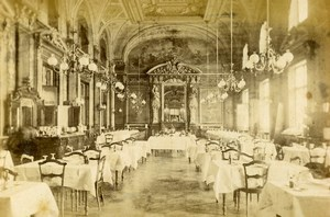 Monte Carlo casino restaurant Old CDV Photo 1870