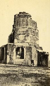 France Nîmes la Tour Magne ancienne Photo CDV 1870