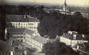 France Bourbon Lancy Hotel des Thermes Marion ancienne Photo CDV 1870