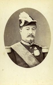 France Paris Marshal of France Achille Bazaine Old CDV Photo LSC 1870