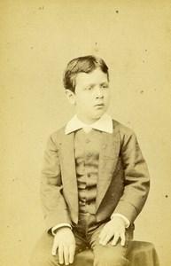 France Paris Ibrahim Pasha son of Khedive of Egypt Old CDV Photo Levitsky 1870