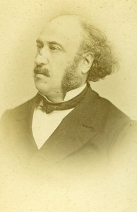 France Paris Philosopher Politician Jules Simon Old CDV Photo Otto & Fiere 1870