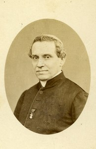 Italy Rome Cardinal Giacomo Antonelli Old CDV Photo Fratelli D'Allesandri 1870