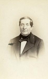 France Lille Alfred Verstraete Old CDV Photo Leblondel 1860