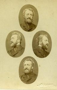 United Kingdom Louis d'Orléans Duc de Nemours Old CDV Photo Adolphe Beau 1870