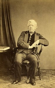 Dublin British Statesman Earl of Carlisle Old CDV Photo Granfield 1860