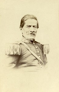 Peru Lima President Ramon Castilla Old CDV Photo Courret Hermanos 1860's