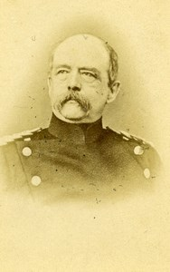 Germany Vount Graf Otto Von Bismarck Old CDV Photo 1870