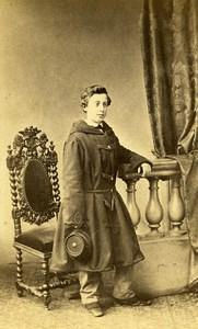 Charles Farina Tunis Second Empire French Presence Old CDV Photo Maujean 1860