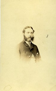 Lieutenant William Henry Wilson 50th Queen's Own Regiment Old CDV Photo 1860's