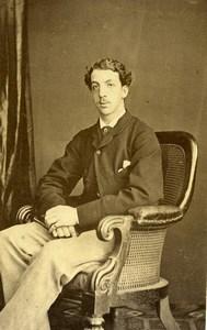 United Kingdom Fifth Marquess of Devonshire Old CDV Photo Watkins 1860's