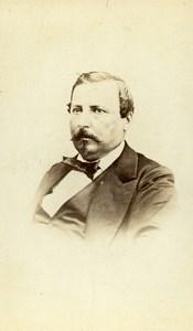 France Marseille Man Second Empire Fashion Old CDV Photo Terris 1870