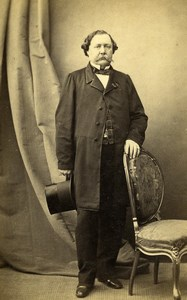 France Paris Man Fashion Second Empire Old CDV Photo Alophe 1860's