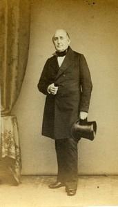 France Paris Homme Mode Second Empire ancienne Photo CDV 1860's