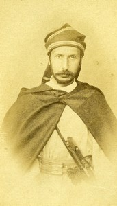 North Africa? Man Fashion Second Empire Old CDV Photo 1860's