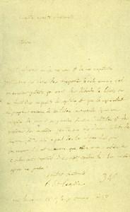 France Paris Photo of Autograph signed Lacepede CDV Mayer & Pierson 1860