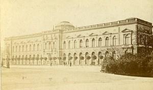 Germany Dresden Museum Semper Gallery Old CDV Photo 1870