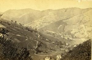 Germany around Freiburg im Breisgau Old CDV Photo Hase 1870