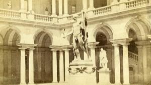 Italy Milano Museum Statue Old Photo CDV Felice Crespi 1870'