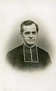 France Lille Religion Priest Old Photo CDV Michel 1900