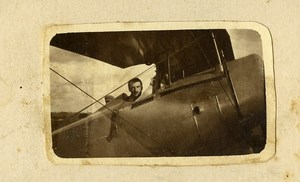 France Aviation Old Photo CDV 1921 From Maurice Finat Aviator Collection
