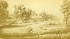 France Orleans Source of Loiret River Old Photo of Gravure CDV Richou 1870'