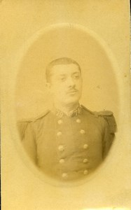 France Nancy Military Soldier Old CDV Photo Schall 1900