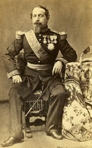 France Empereur Napoleon III Portrait Ancienne CDV Photo Mayer & Pierson 1860's