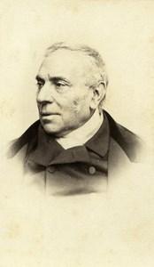 France Depute Pierre Antoine Berryer Portrait Ancienne CDV Photo Reutlinger 1870