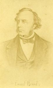 France Senateur Ernest Picard Portrait Ancienne CDV Photo Rensch 1870
