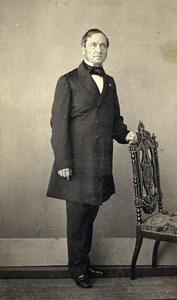 Belgium Mons Man Costume Second Empire Fashion de Thuin CDV Photo Carlier 1860