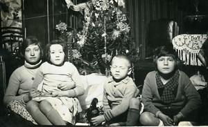 France Petit Cinema Pathe Jouet Jeu d'Enfants Ancienne Photo Amateur 1930
